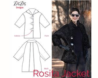 Rosita Jacket - PDF Sewing Pattern