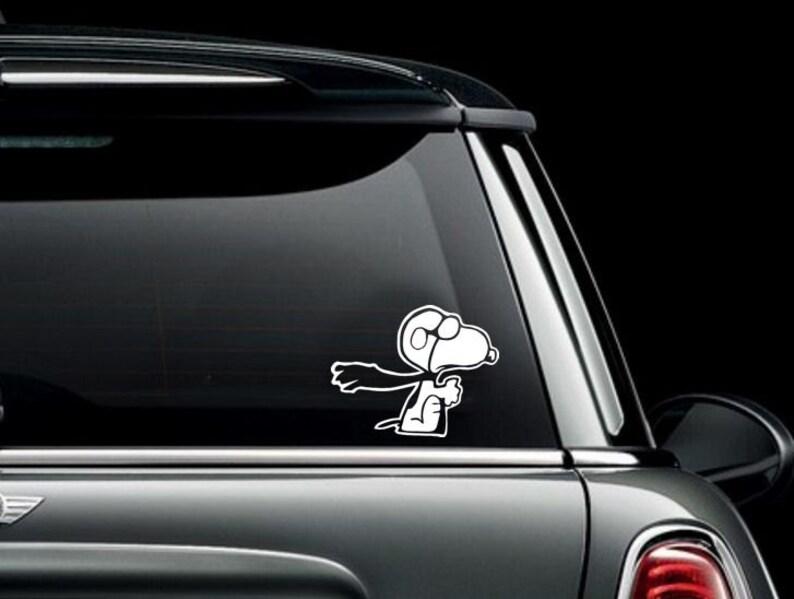 Snoopy Fliegen Auto Lkw Van Fenster Oder Vinyl Aufkleber Aufkleber