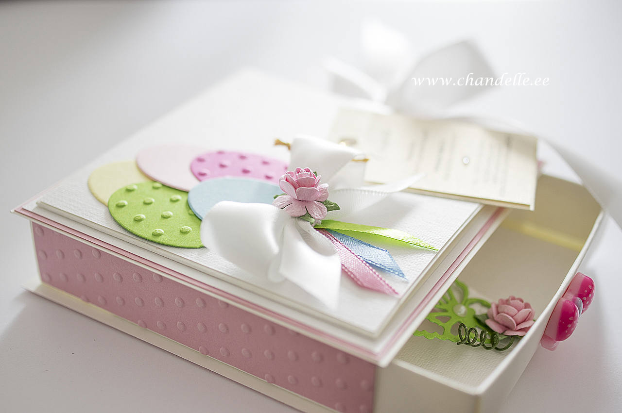 Card Handmade card-box Wedding card-box Birthday card-box