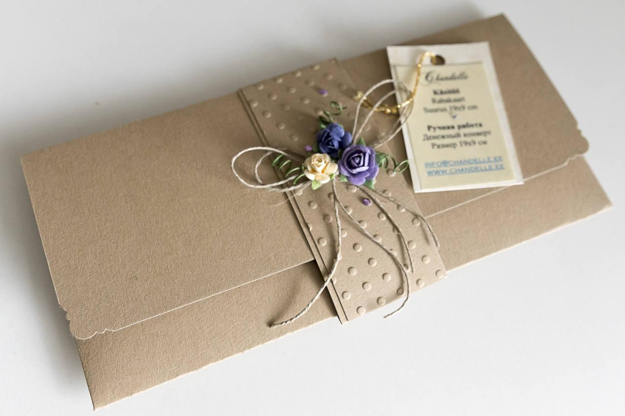 card handmade envelope wedding envelope birthday envelope
