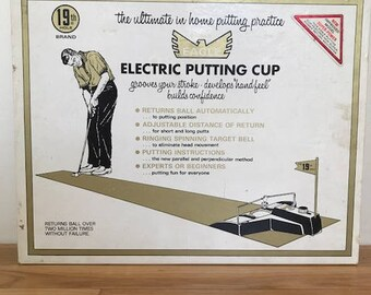 Vintage Golden Eagle Electric Putting Cup By 19th Hole