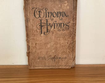 Vintage Winora Hyms Book