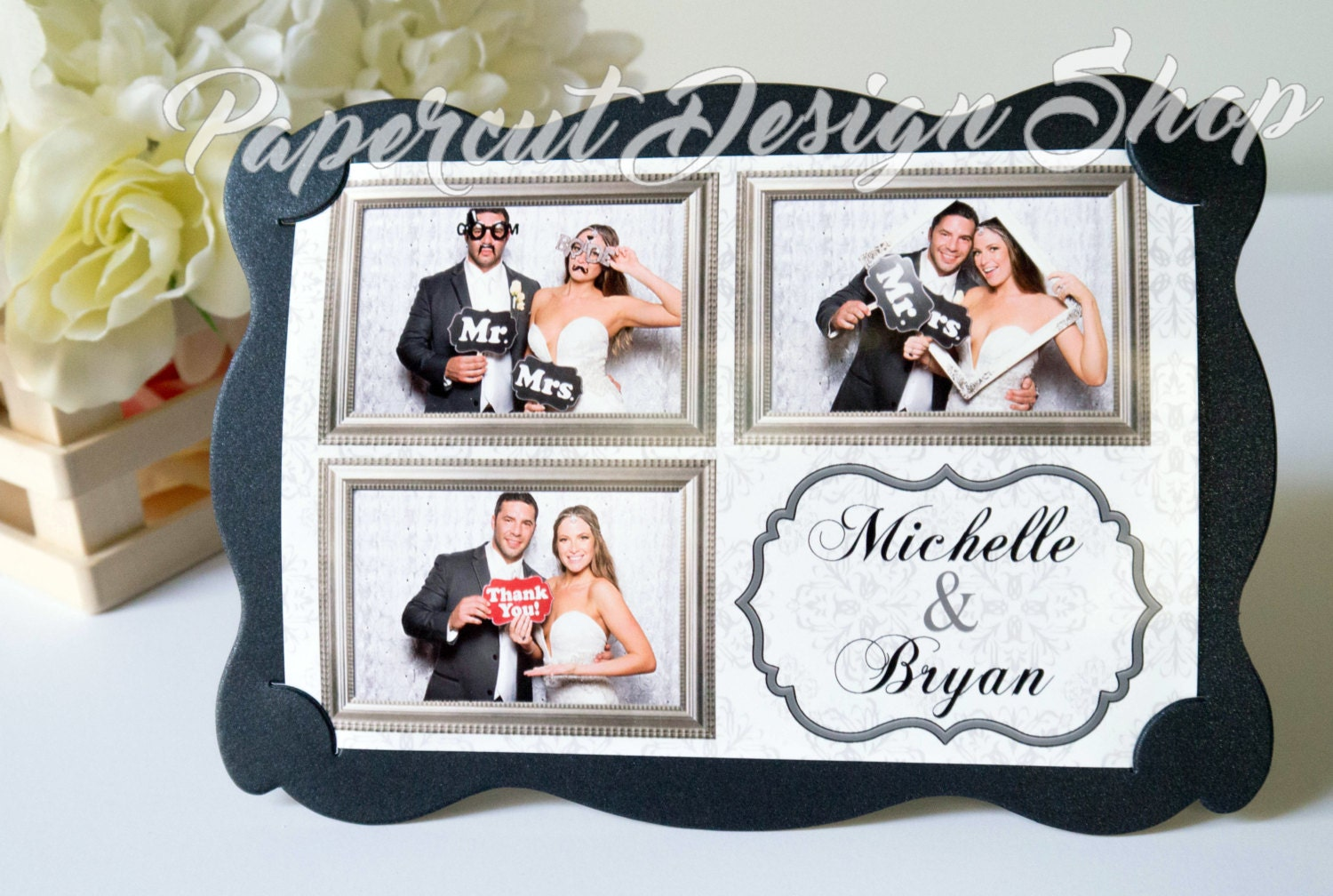 Photo Booth Frame Photo Holder Wedding Birthday Party Favor