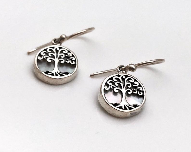 Tree of Life Jewelry Tree of Life Earrings Small Tree of Life Earrings