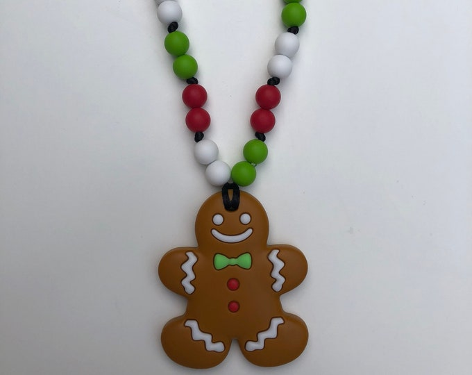 On The Go Gingerbread Man teether