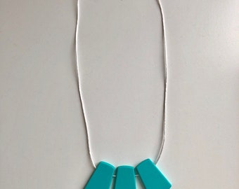Bold Necklace in Turquoise