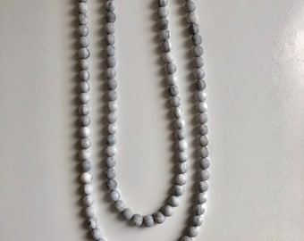 Perfectly Layered Marble Necklace