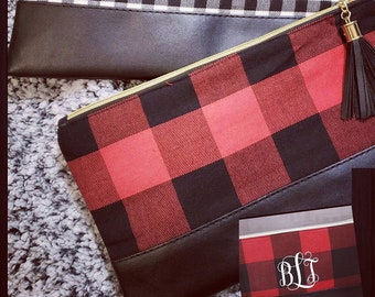 1eeb00d22c1c Buffalo Plaid Clutch