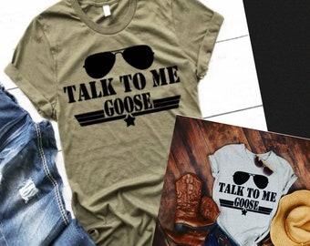 c63ce92b Talk To Me Goose, Top Gun Shirt, Adult, Youth, Toddler, Infant, Unisex Shirt,  Top Gun Movie Shirt, Talk To Me Goose Shirt, Movie Theme Shirt