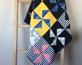 Modern Pinwheel Quilt