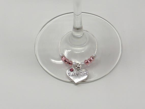 Come In A Pretty Organza Bag Ideal Gift 6 x Ladies Wine Glass Charm