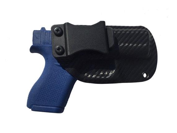 Kydex IWB Holster For Glock 43 9mm Laser Lyte Laser Max Crimson Trace ArmaLaser