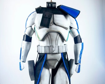 Star Wars Captain Rex Armor & Helmet Phase 2 | Clone Wars Season 4 - 7 | Clone Wars Cosplay | Captain Rex Cosplay