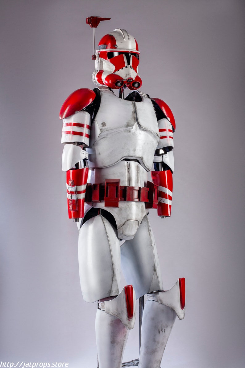 Star Wars Clonetrooper Armor And Helmet Phase 2 From Revenge Etsy