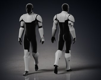 Star Wars Jedi General Armor Complete Costume   Clone Wars Jedi Armor   Obi Wan Armor from Clone Wars  