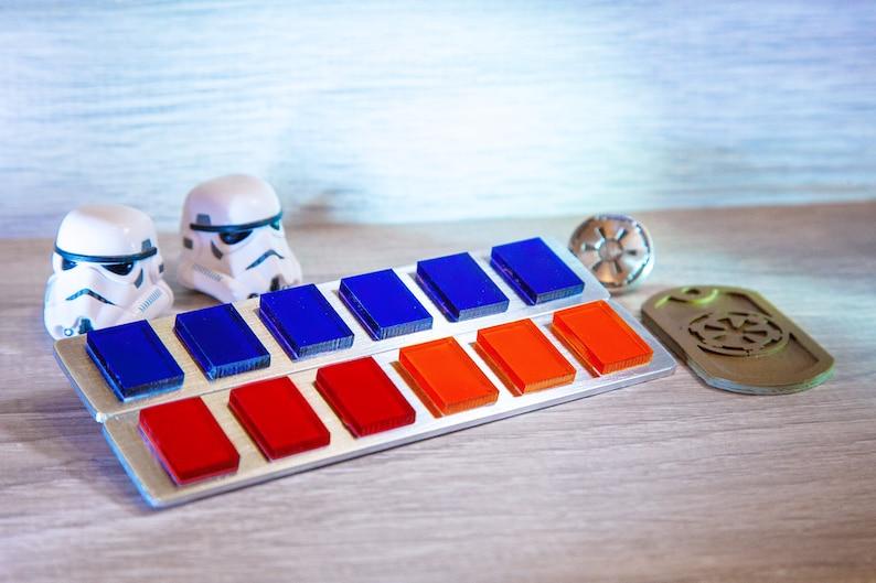 Star Wars Imperial Officer Rank Bar / Grand Moff Tarkin Rank image 0