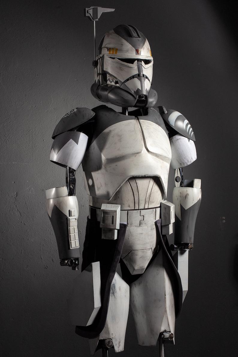 Star Wars Clonetrooper Armor | Captain Rex Armor | Commander Wolffe Armor |  ARC Commander | Animated Clone Wars Season 1-6 Completed Armor