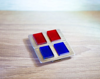 Imperial Officer Rank Bar / Star Wars Empire Strike Back Line Officers Lieutenant Rank Badge, Fleet 2nd Lieutenant / Code Cylinder