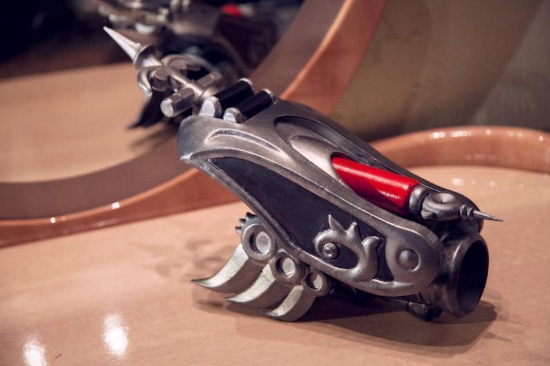 WIidowMaker Huntress Gauntlet and Glove. Overwatch inspired 3D image 0