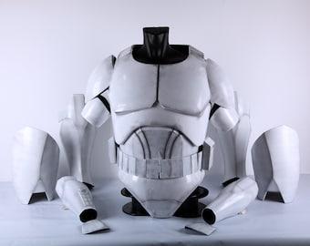 Star Wars Clone Trooper Armor | Custom Size | Clone Commander Wolffe Armor | ARC Trooper Fives | Animated Clone Wars Armor | Ready To Wear