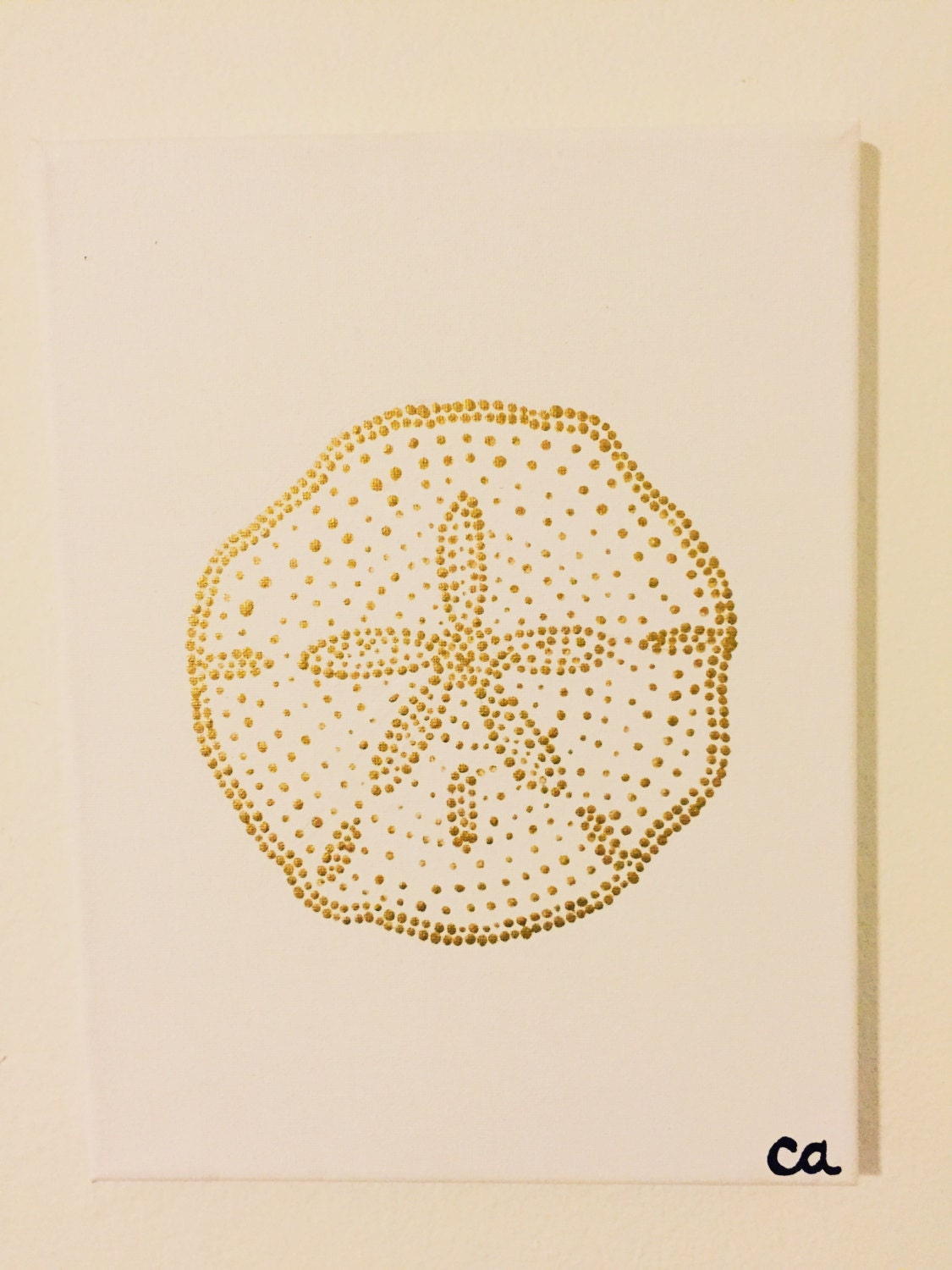 Perfect Oversized Sand Dollar Wall Decor Composition - Wall Art ...