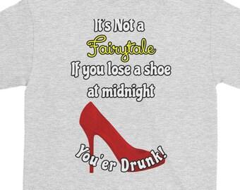 Fairy Tale Lost Shoe Short-Sleeve T-Shirt