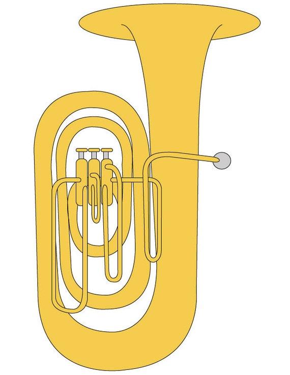 tuba clipart  tuba illustration  tuba grafik  student