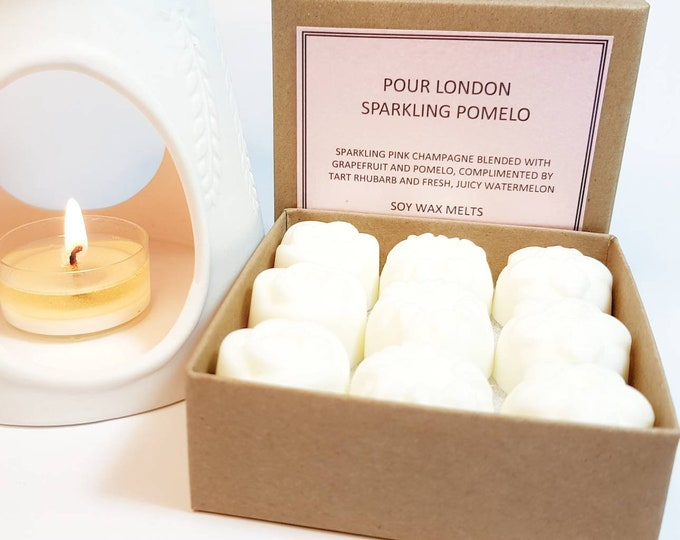 Sparkling Pomelo Scented Soy Wax Melts x 9