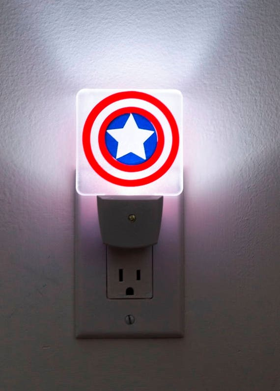 Avengers Captain America Shield with LED light/&Collectible Kids Toy Gift Top CA