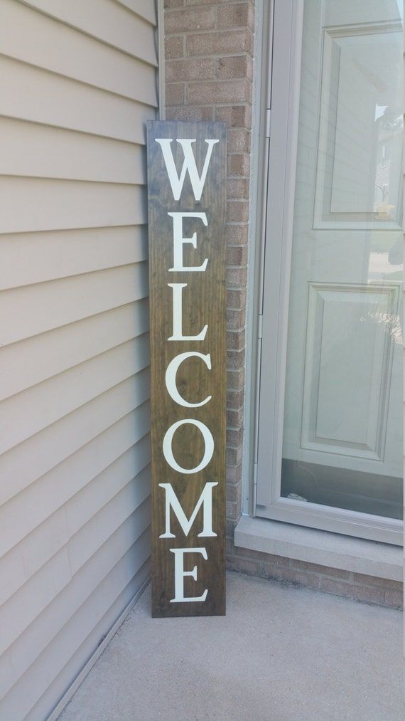 Awesome Welcome Front Porch Wooden Sign Front Porch Sign Welcome Door Handles Collection Olytizonderlifede