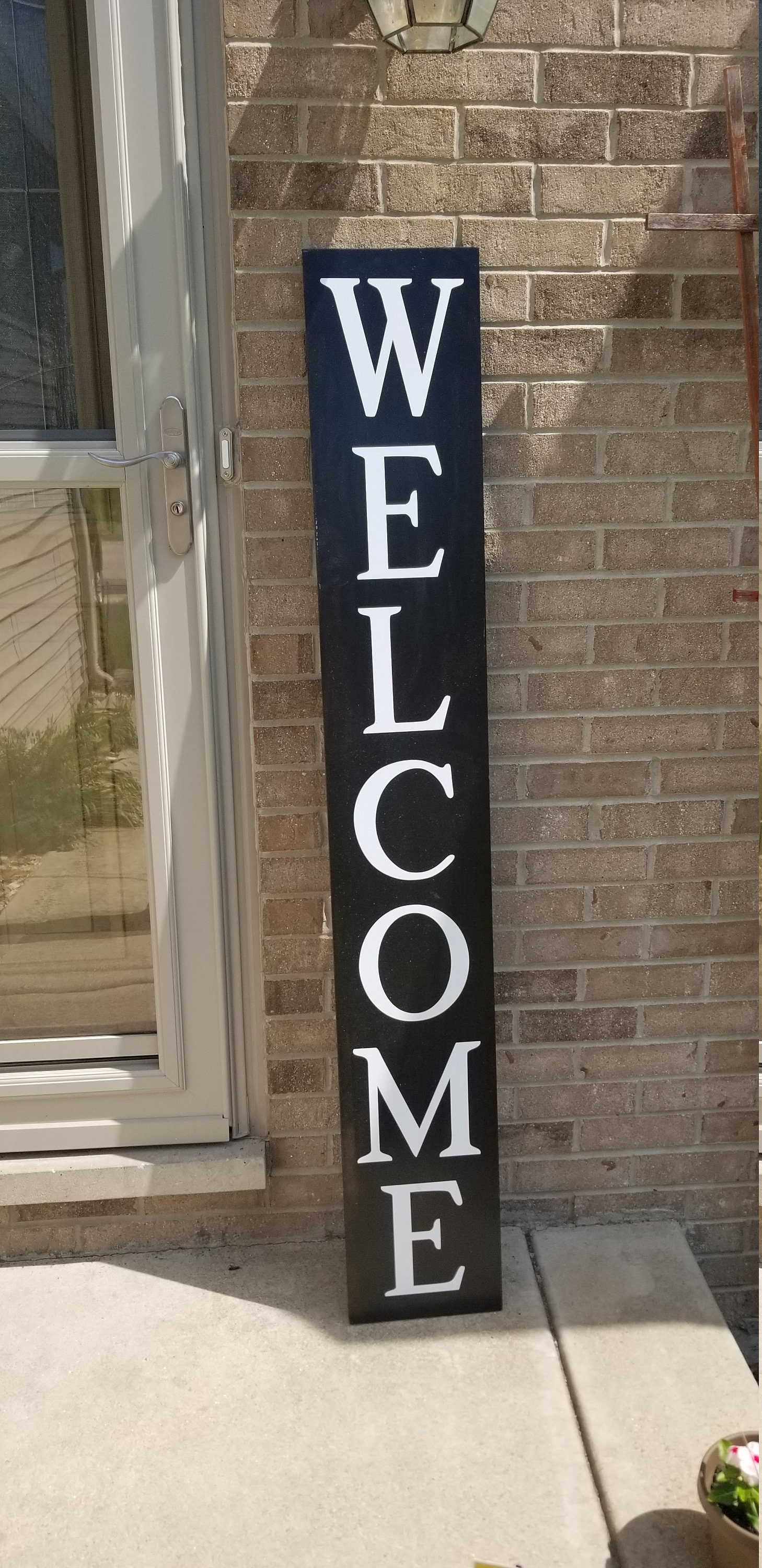 WELCOME Front porch wooden sign, front porch sign, Welcome ...