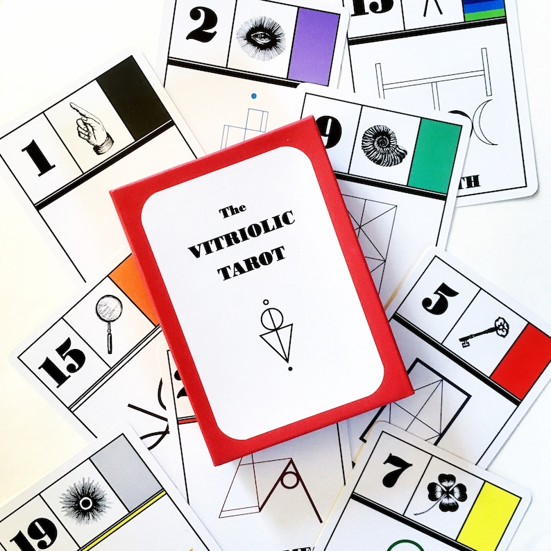 The Vitriolic Tarot Deck 2nd Edition 2nd Ed Deck