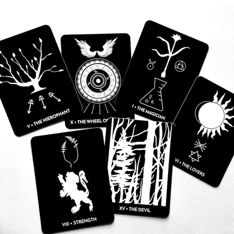 The Dark Exact Tarot Deck 5th Edition