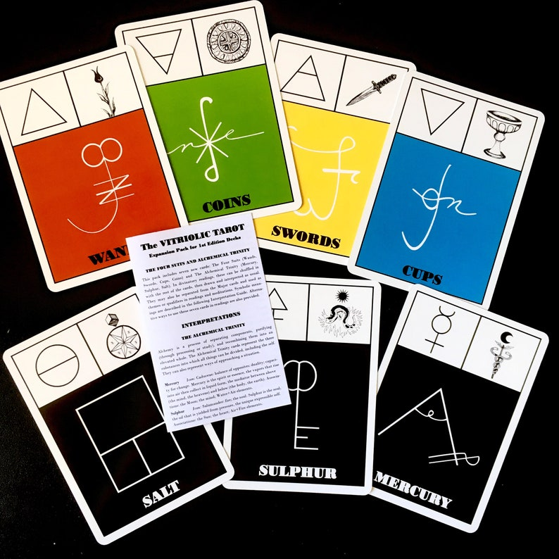 Expansion Pack for 1st Edition Vitriolic Tarot image 0
