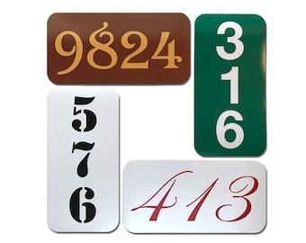Reflective Custom Address Sign