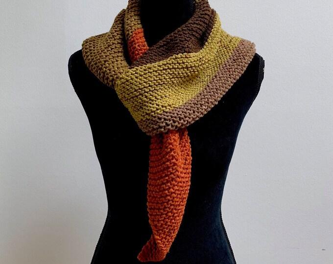 FREE Shipping Handmade Boho Bohemian Crochet Shawl Wrap Large Scarf Unique Designer Free Shipping Gypsy Triangle Baktus Colorblock