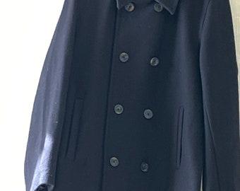 1960s JC Penney PEA COAT jacket us navy