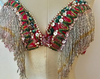 c10c9f772a Late 1950s early 1960s beautiful Burlesque Bra Top