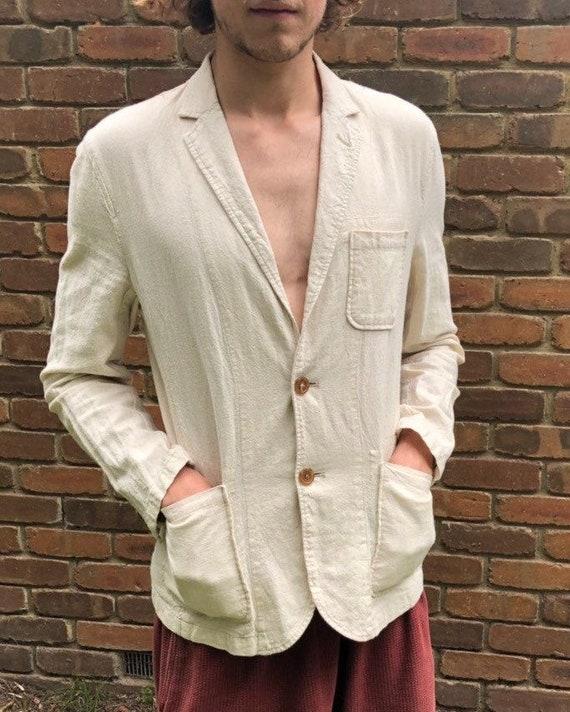 JAPANESE BEIGE LINEN Blazer