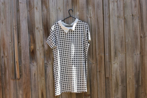 Plaid ladies shirtdress 60s vintage