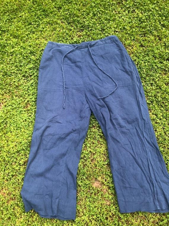 Boho lounge linen pants