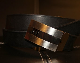 Chic men leather belt