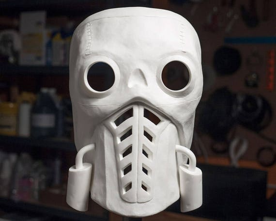 Bandit Steve Borderlands 3 Inspired Leather Mask Cosplay Halloween Ready to ship LARP Costume Video Game Character Inspiration