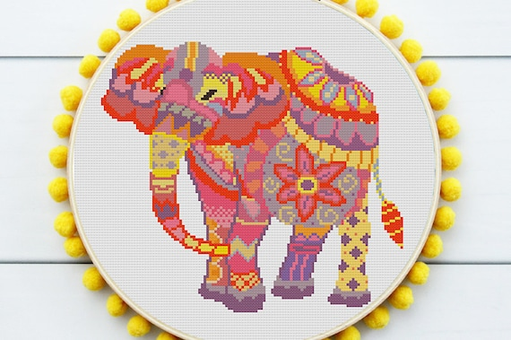 Jigsaw Ape Cross Stitch Pattern Animale Cross Stitch moderno Ricamo