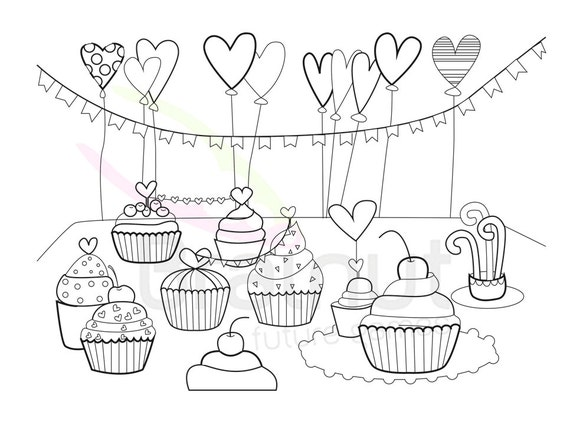 - Valentines Day Coloring Pages Love Valentine Color Pages Etsy