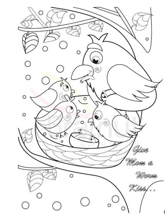 - Mothers Day Coloring Pages Mothers Day Gift Mother's Etsy