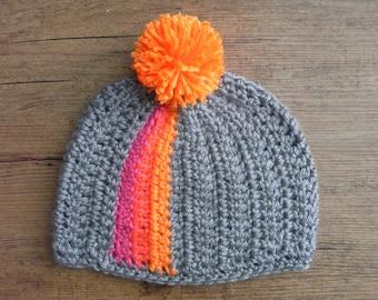 READY to ship / crochet baby Bonnet / 3-6 months