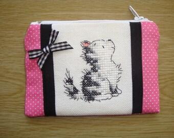 6a3004c7f867 Kitten wallet | Etsy