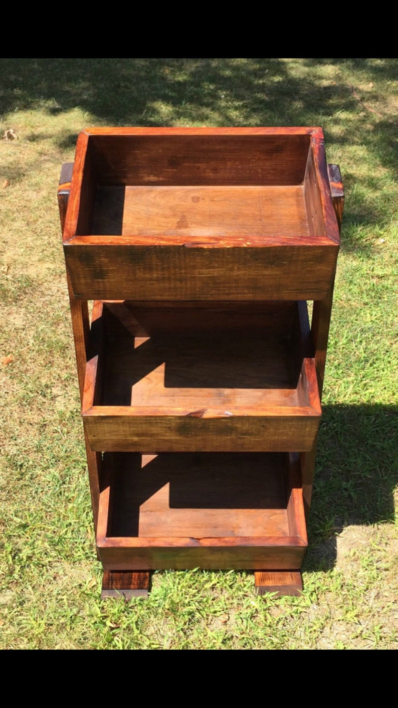 3 Level Handmade Stand