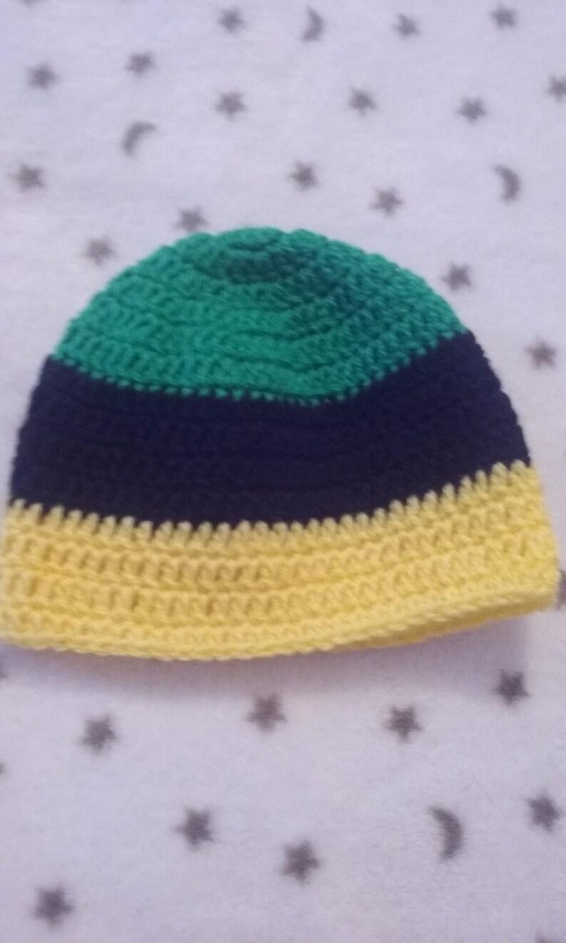 416424c7cfab7 Crochet Jamaican baby hat. crochet baby winter hat. Jamaican